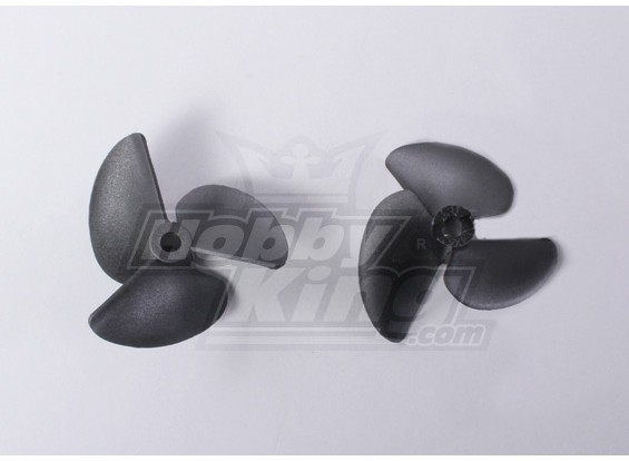 3-Blade Boat Propellers 40x52mm (2pcs/bag)