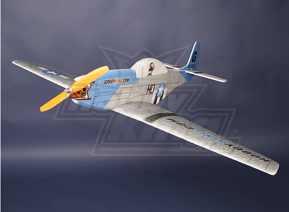 HobbyKing® ™ P51 EPP ProfileFighter Unbreakable (33inch)
