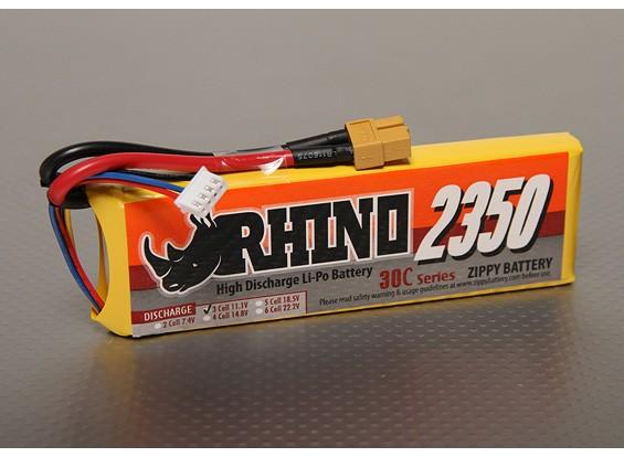Rhino 2350mAh 3S1P 30C Lipoly Pack