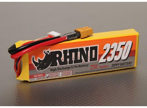 Rhino 2350mAh 4S1P 25C Lipoly Pack