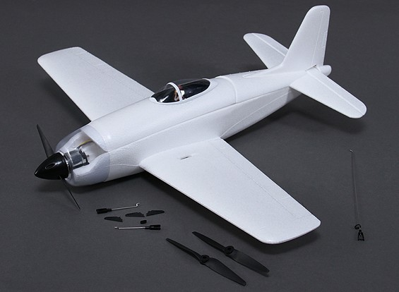 Rarebear Funfighter - EPO 620mm Un-Painted Kit Version with Motor