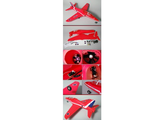 Red Arrow 95% RTF w/ brushless EDF, motor & ESC