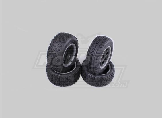F/R Terminator Wheel/Tire Set Baja 260 and 260s (4pcs/set)