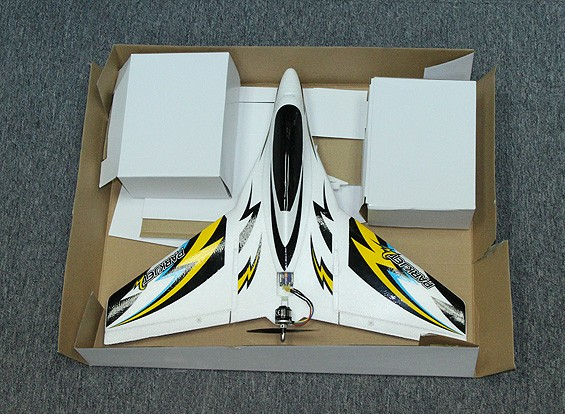 SCRATCH/DENT Parkjet 2 High Speed Wing with 3-axis Flight Stabilizer EPO 550mm (Mode 2) (RTF)