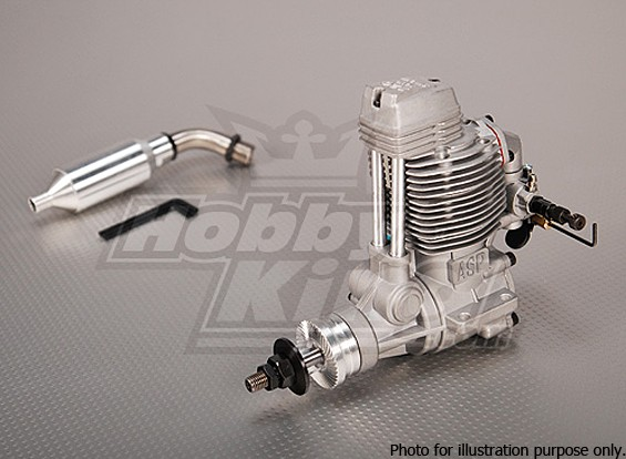 SCRATCH/DENT -  ASP FS120AR Four Stroke Glow Engine