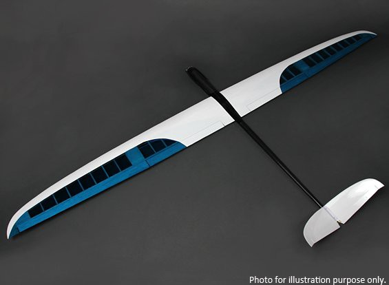 SCRATCH/DENT - Perseus Electric Sailplane Balsa Composite 2285mm (PNF)