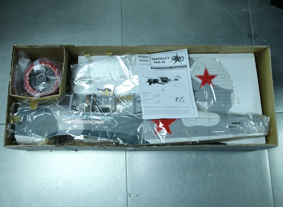 SCRATCH/DENT - YAKOVLEV YAK-52 1540mm (ARF)