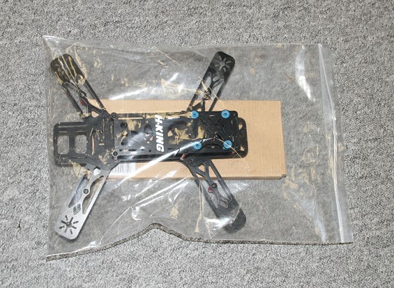 SCRATCH/DENT - H-King SMACK Premium 250mm FPV Ready Quad Copter Frame (KIT)