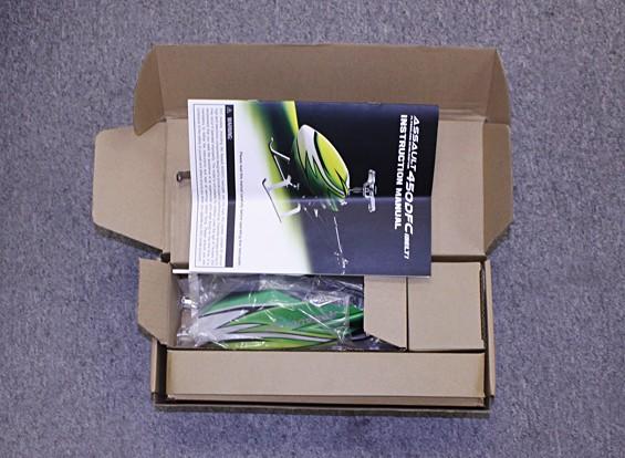 SCRATCH/DENT - Assault 450DFC Belt Drive Flybarless 3D Helicopter Kit