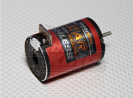 HobbyKing X-Car 10.5 Turn Sensored Brushless Motor 3200Kv