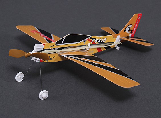 Rubber Band Powered Freeflight Marchetti Model 310mm Span
