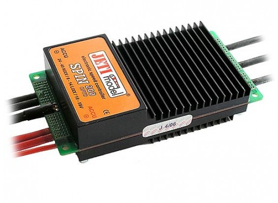 Jeti SPIN Opto 200A 6-14Cell