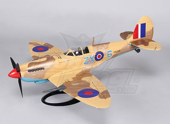 Spitfire MkIXC w/Stand 650mm (PNF)