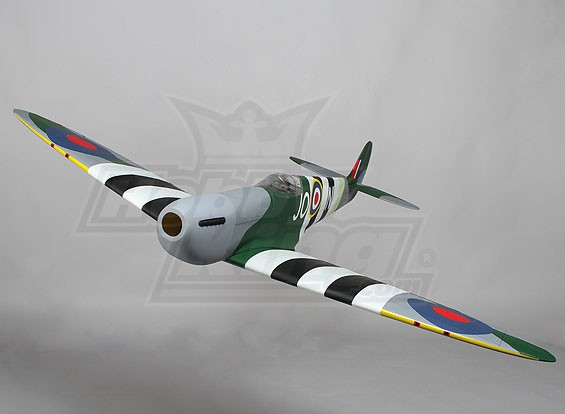 Hobbyking Spitfire Balsa 1234mm EP w/Retracts (ARF)