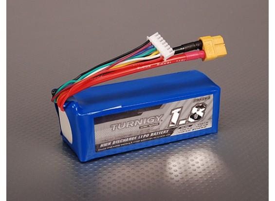 Turnigy 1800mAh 6S 40C Lipo Pack