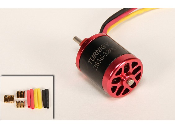 Turnigy 2836 Brushless EDF Motor 3200kv