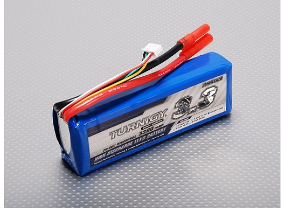 Turnigy 3300mAh 4S 20C Lipo Pack
