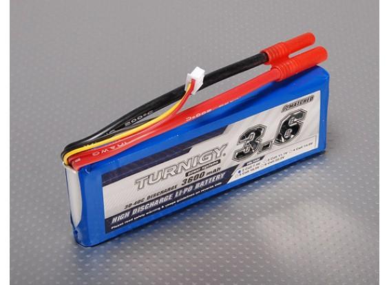 Turnigy 3600mAh 2S 30C Lipo Pack