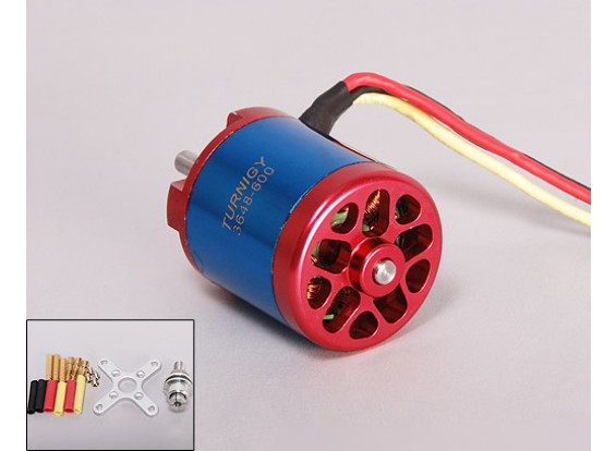 Turnigy 3648 Brushless Motor 600kv