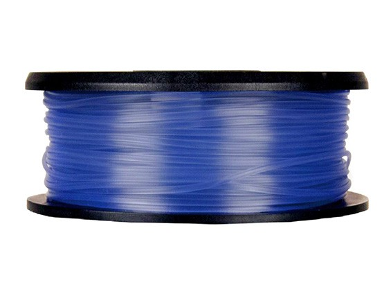 CoLiDo 3D Printer Filament 1.75mm PLA 1KG Spool (Translucent Blue)