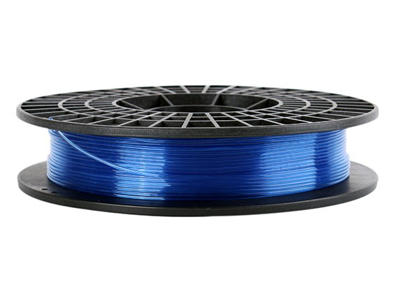 CoLiDo 3D Printer Filament 1.75mm PLA 500G Spool (Translucent Blue)