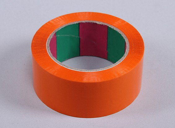 Wing Tape 45mic x 45mm x 100m (Wide - Orange)