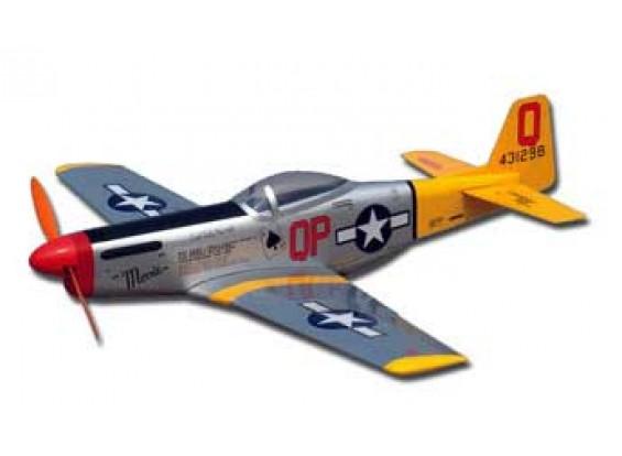 TM P51 Mustang EP 33.5inch ARF MINI
