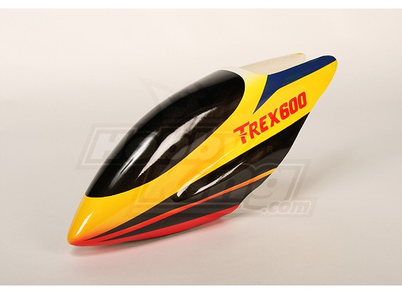 Fiberglass Canopy for Trex-600 Electric