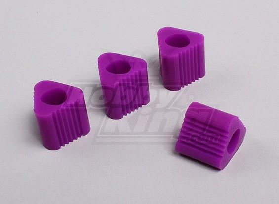 Triangular Heli Landing Pad - 9mm (Purple)
