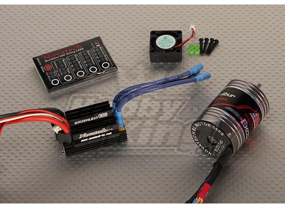 Brushless Car Power System 4000kv/45A