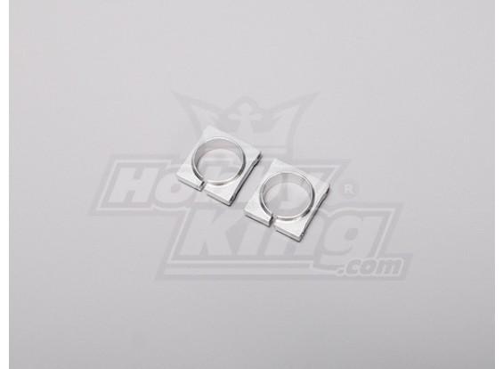 TZ-V2 .90 Size Tail Boom Holder (Metal)