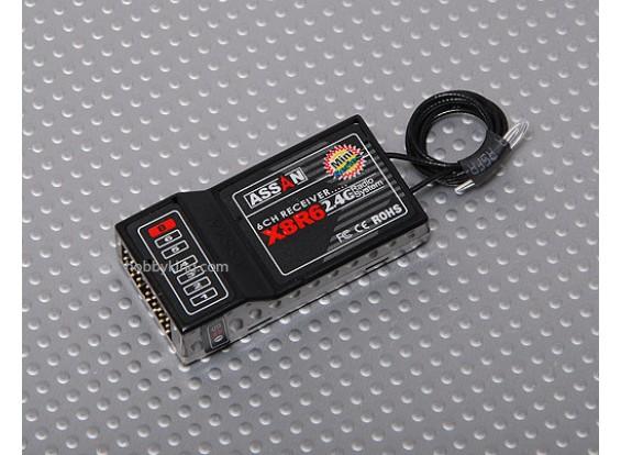 X8 R6 6Ch 2.4GHz Receiver (Long Antenna)
