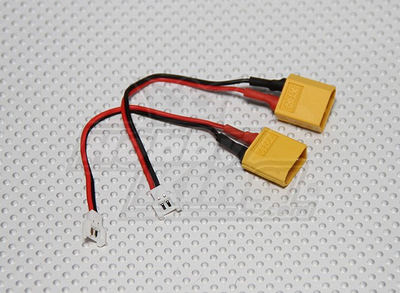 XT60 to Micro Losi Charging Adapter (2pcs/bag)