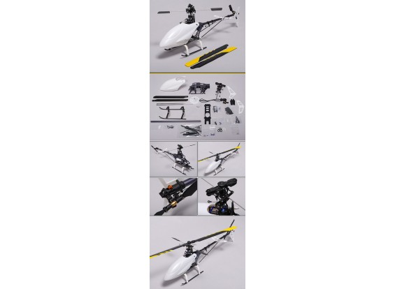 HK-450 CCPM 3D Helicopter Kit (Align T-rex Compat.)