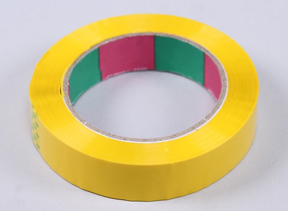 Wing Tape 45mic x 24 mm x 100m (Narrow - Yellow)
