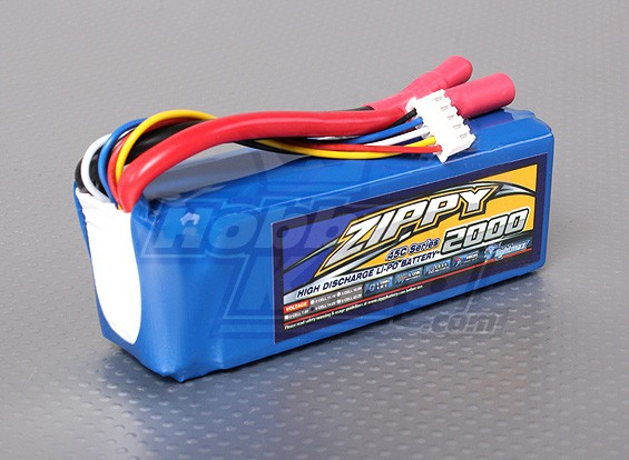ZIPPY Flightmax 2000mAh 4S1P 45C