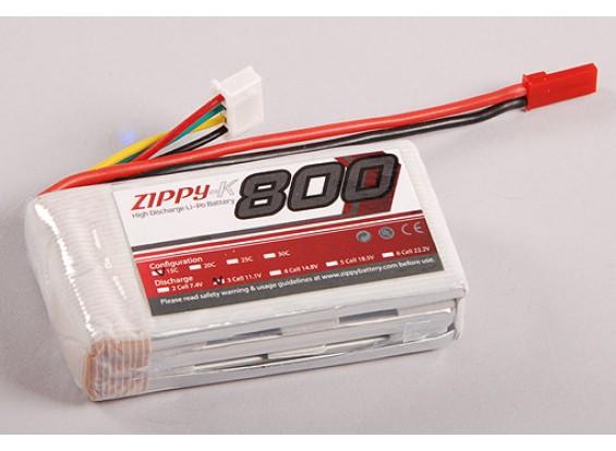 Zippy-K 800 3S1P 15C Lipo pack