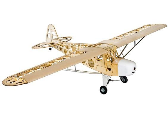 Piper J Cub Balsa Wood Rc Airplane Laser Cut Kit
