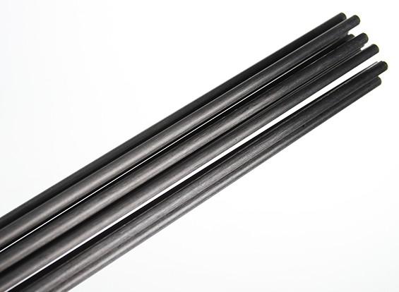 Carbon Fiber Rods >> Carbon Fiber Rod Solid 1 8x750mm
