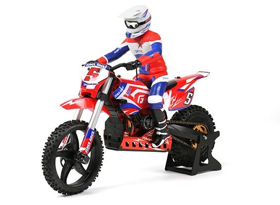 Super Rider SR5 1 4 Scale RC Motocross Bike RTR UK Plug