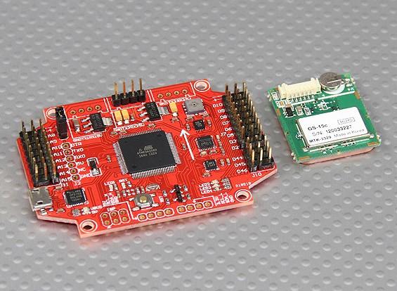 pro flight controller w mtk gps module multiwii pro flight controller w