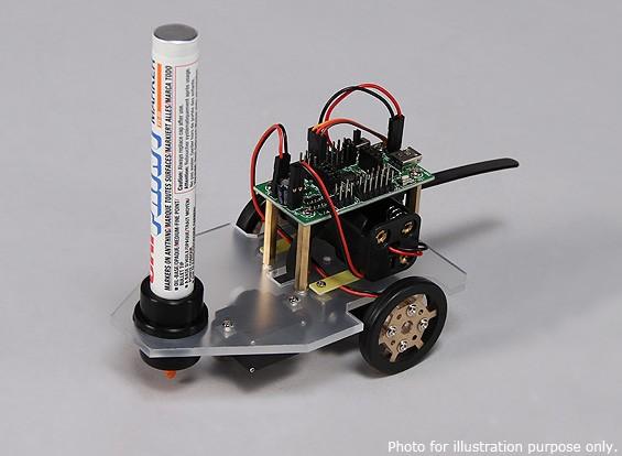 Doodle bot drawing robot kingduino compatible kit