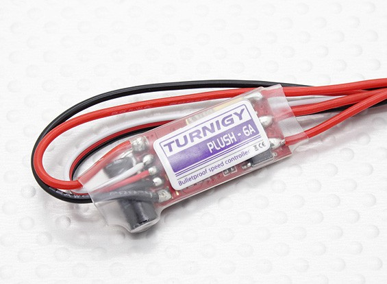 Turnigy Plush 6a 8bec 6g Speed Controller