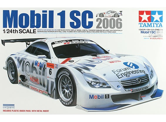 Tamiya 1 24 Scale Mobil 1 Sc Plastic Model Kit