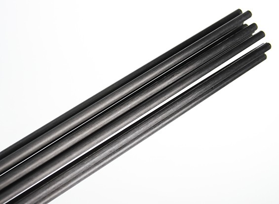 Carbon Fiber Rods >> Carbon Fiber Rod Solid 1x750mm