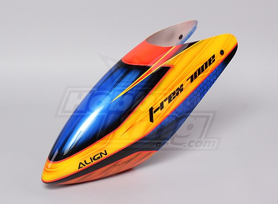 & Savours Airbrush Fiberglass Canopy (Trex 700E)