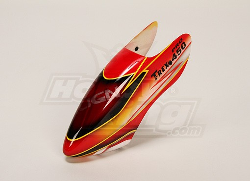 & Fiberglass Canopy for Trex-450 Pro
