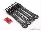 SCRATCH/DENT - TBS Discovery Upgrade -  Carbon Fiber Folding Arms (Standard Height Version)