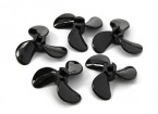 3-Blade Boat Propellers D40xD4x10.5mm Left (5pcs)
