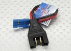 PowerBox Adapter wire MPX Male - JR/Futaba .5mm wire 10cm